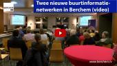 Twee nieuwe buurtinformatienetwerken in Berchem BIN Brilschans en BIN Roest d'Alkemadelaan Berchem TV Bart De Wever Evi Van der Planken
