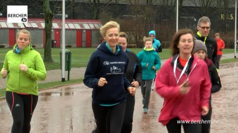 Gerda Cleyman is Sportambassadeur van Berchem