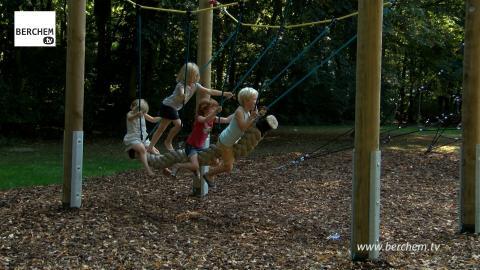 Gerenoveerde speeltuin het Rooi ingehuldigd Berchem TV