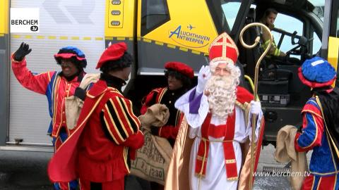 Sinterklaas komt voor 31ste keer aan in Berchem