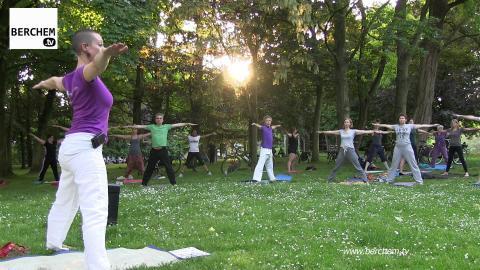 Tai Chi en Yoga heel de zomer lang in het Brilschanspark