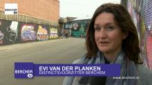 Nieuwe wandelroute Street Art Berchem Route langs Berchemse street art  Berchem TV