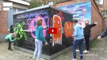 Dit weekend slotexpo Jonge Artiesten Museum  Berchem TV JAM