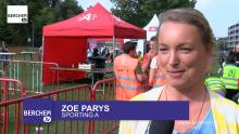 Scholenveldloop in Park Brilschans Berchem TV Zoe Parys Sporting A