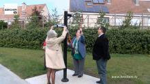 Drie nieuwe buitenfitnesstoestellen bij De Veldekens Berchem TV