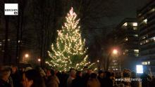 Volop kerstsfeer op Fruithoflaan (video) Berchem TV