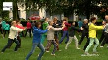 Heel de zomer Oosterse sporten in Brilschanspark Berchem TV