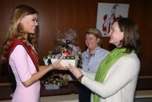 Miss België ontvangen op districtshuis van Berchem