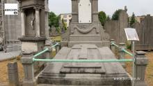 Sint-Norbertusinstituut neemt grafmonument van haar stichter Theofiel Roucourt onder haar hoede