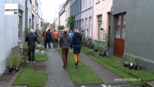 Buurt tekent mee aan tuinstraten van Oud-Berchem Berchem TV