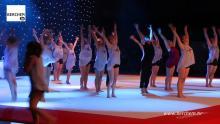 Turnkring Volharding trakteert publiek op spectaculaire show (video)