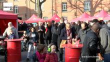 Veel volk op Berchemse nieuwjaarsdrink