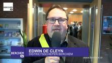 College feliciteert Berchem Sport in videoboodschap Berchem TV