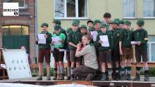 welpen van 100-jarige scoutsgroep van Berchem